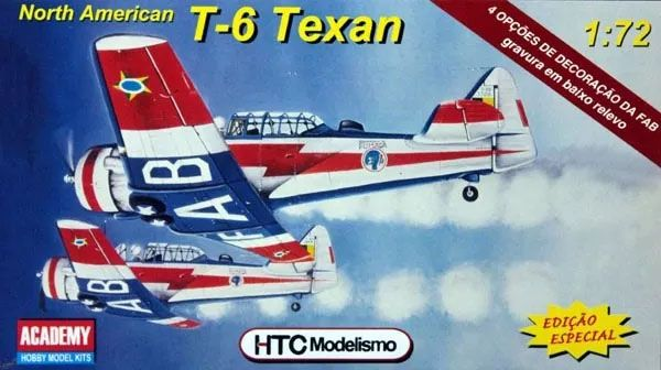 North American T-6 Texan - 1/72 - HTC 72004  - BLIMPS COMÉRCIO ELETRÔNICO