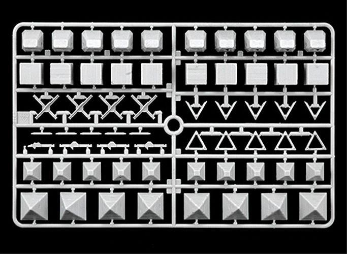 Obstáculos antitanque - 1/72 - Italeri 6147  - BLIMPS COMÉRCIO ELETRÔNICO