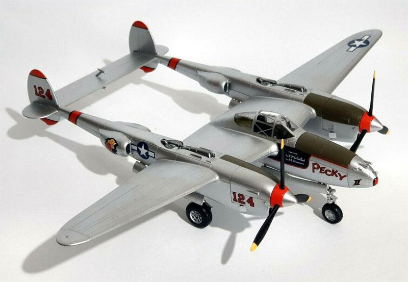 P-38 - 1/72 - Easy Model 36431  - BLIMPS COMÉRCIO ELETRÔNICO