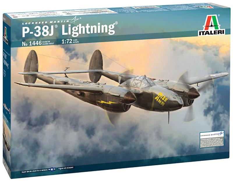 P-38J Lightning - 1/72 - Italeri 1446  - BLIMPS COMÉRCIO ELETRÔNICO