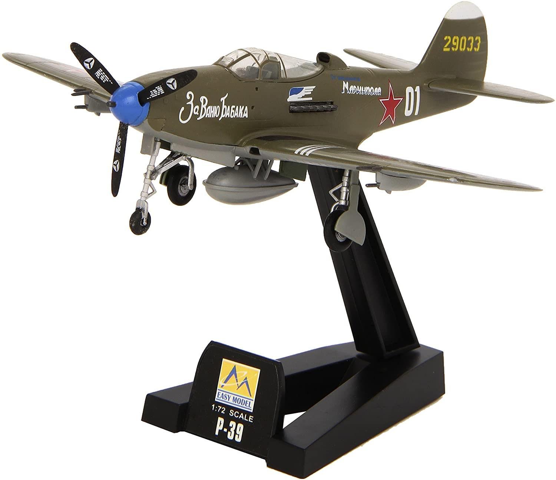 P-39N-0 - 1/72 - Easy Model 36321  - BLIMPS COMÉRCIO ELETRÔNICO