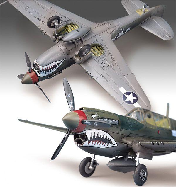P-40M/N - 1/72 - Academy 12465  - BLIMPS COMÉRCIO ELETRÔNICO