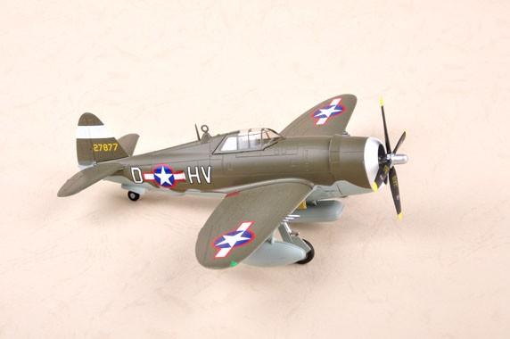 P-47D Razorback - 1/72 - Easy Model 36424  - BLIMPS COMÉRCIO ELETRÔNICO
