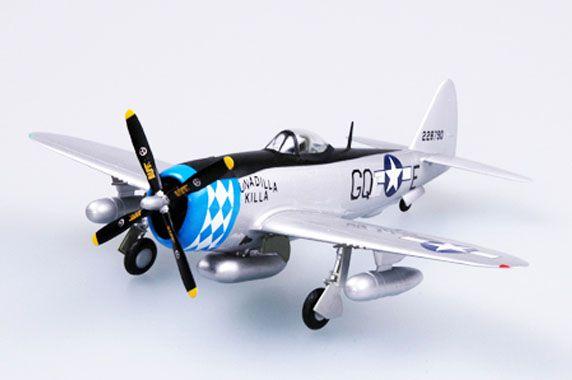 P-47D Thunderbolt - 1/72 - Easy Model 37289  - BLIMPS COMÉRCIO ELETRÔNICO
