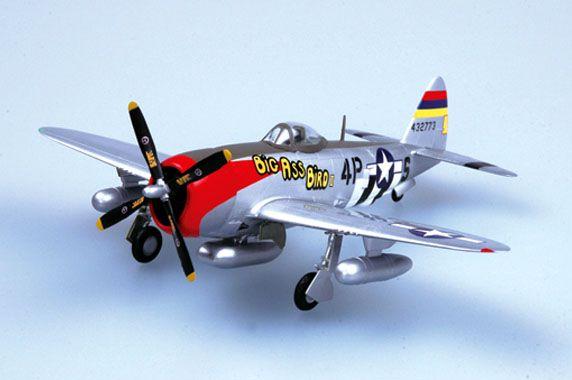 P-47D Thunderbolt - 1/72 - Easy Model 37286  - BLIMPS COMÉRCIO ELETRÔNICO