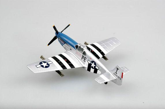 P-51B Mustang - 1/72 - Easy Model 36355  - BLIMPS COMÉRCIO ELETRÔNICO