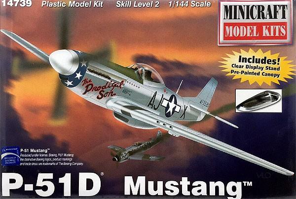 P-51D Mustang - 1/144 - Minicraft 14739  - BLIMPS COMÉRCIO ELETRÔNICO
