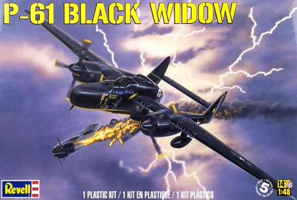P-61 Black Widow - 1/48 - Revell 85-7546  - BLIMPS COMÉRCIO ELETRÔNICO