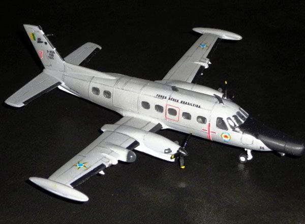 P-95 Bandeirante Patrulha - Bandeirulha -  FAB - 1/72 - GIIC  - BLIMPS COMÉRCIO ELETRÔNICO