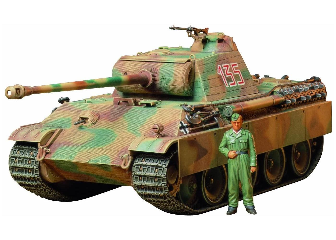 Panther Tipo G Early Version - 1/35 - Tamiya 35170  - BLIMPS COMÉRCIO ELETRÔNICO