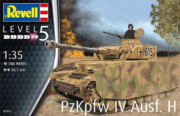Panzer IV Ausf. H - 1/35 - Revell 03333  - BLIMPS COMÉRCIO ELETRÔNICO