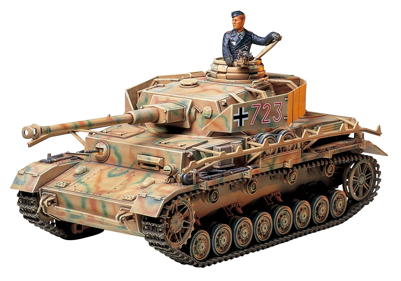Panzerkampfwagen IV Ausf.J Sd.Kfz.161/2 - 1/35 - Tamiya 35181  - BLIMPS COMÉRCIO ELETRÔNICO