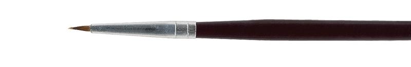 Pincel de pelo de marta Acrilex número 0 - Acrilex 66074.9990  - BLIMPS COMÉRCIO ELETRÔNICO