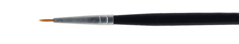 Pincel de pelo sintético dourado Acrilex número 000 - Acrilex 66062.9000  - BLIMPS COMÉRCIO ELETRÔNICO