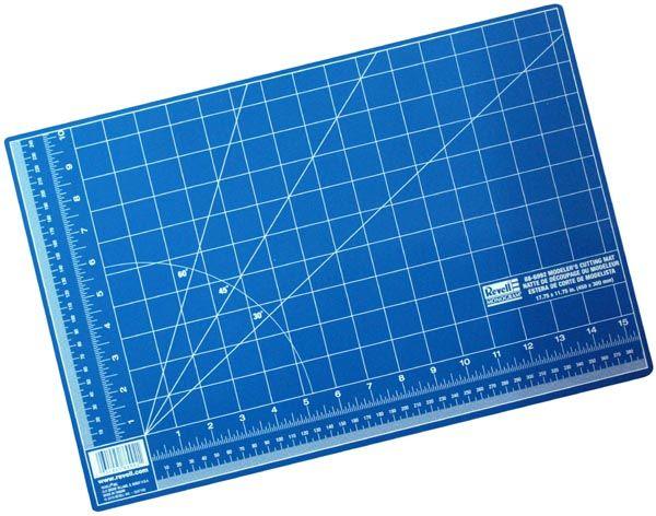 Placa de corte auto-reparável - 450 x 300 mm - Revell R6992  - BLIMPS COMÉRCIO ELETRÔNICO