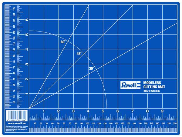 Placa de corte auto-reparável - 305 x 228 mm - Revell 39056  - BLIMPS COMÉRCIO ELETRÔNICO
