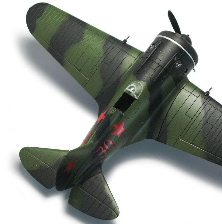 Polikarpov I-16 Type 24 - 1/48 - Academy 12314  - BLIMPS COMÉRCIO ELETRÔNICO