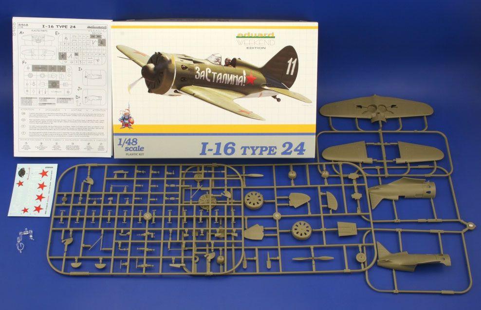 Polikarpov I-16 Type 24 - 1/48 - Eduard 8468  - BLIMPS COMÉRCIO ELETRÔNICO