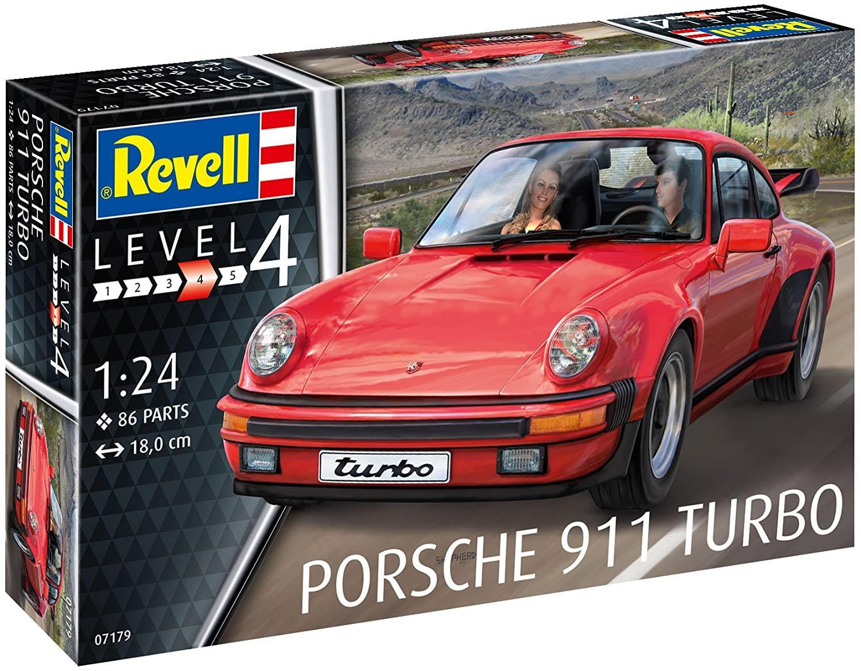 Porsche 911 Turbo - 1/24 - Revell 07179  - BLIMPS COMÉRCIO ELETRÔNICO