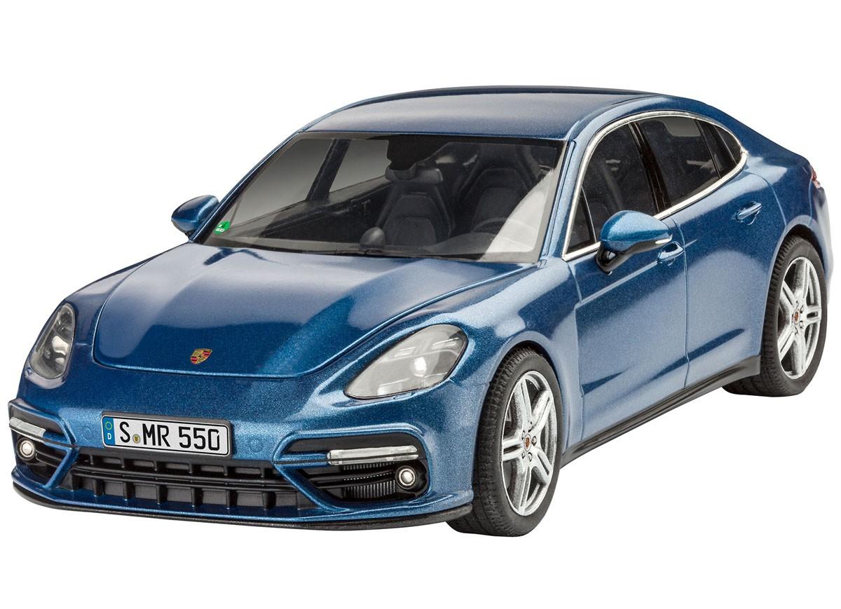 Porsche Set (Panamera e 918 Spyder) - 1/24 - Revell 05681  - BLIMPS COMÉRCIO ELETRÔNICO