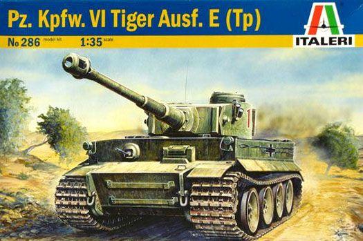 Pz. Kpfw. VI Tiger Ausf. E (Tp) - 1/35 - Italeri 286  - BLIMPS COMÉRCIO ELETRÔNICO