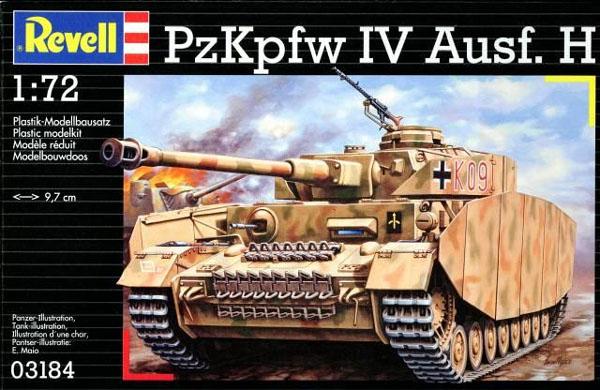PzKpfw IV Ausf.H - 1/72 - Revell 03184  - BLIMPS COMÉRCIO ELETRÔNICO