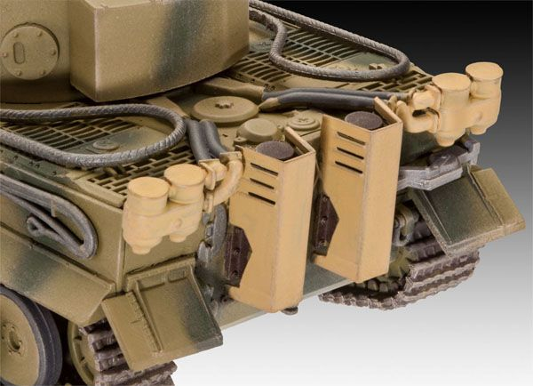 PzKpfw VI Ausf. H TIGER - 1/72 - Revell 03262  - BLIMPS COMÉRCIO ELETRÔNICO