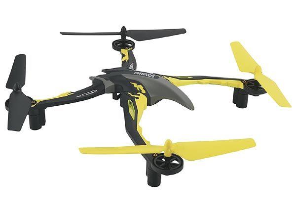 Quadricóptero Ominus RTF Preto e Amarelo - DID E01YY  - BLIMPS COMÉRCIO ELETRÔNICO