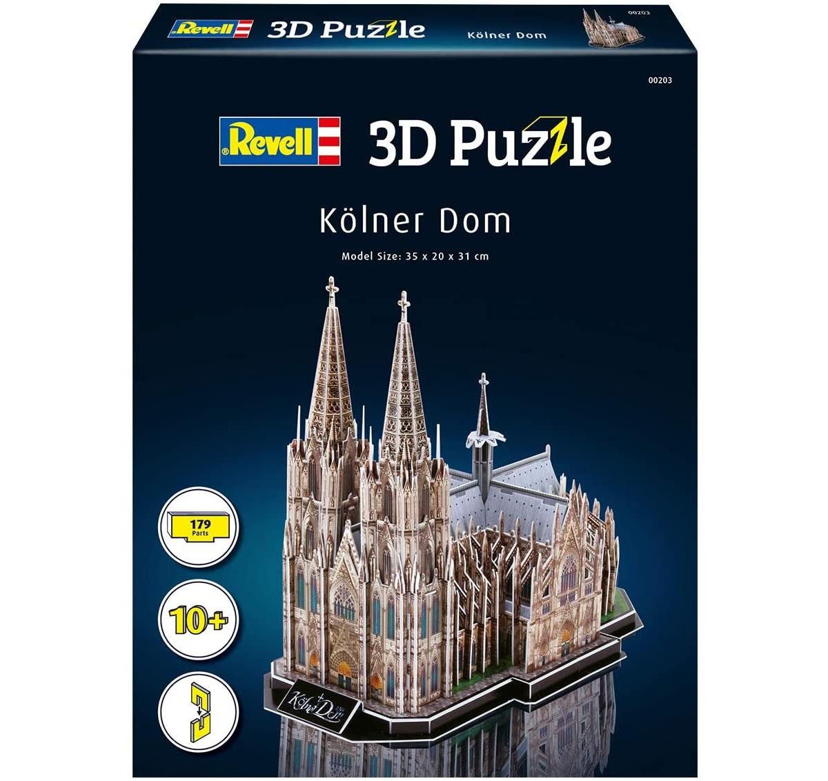 Quebra-cabeça 3D (3D Puzzle) Catedral de Colônia - Revell 00203  - BLIMPS COMÉRCIO ELETRÔNICO