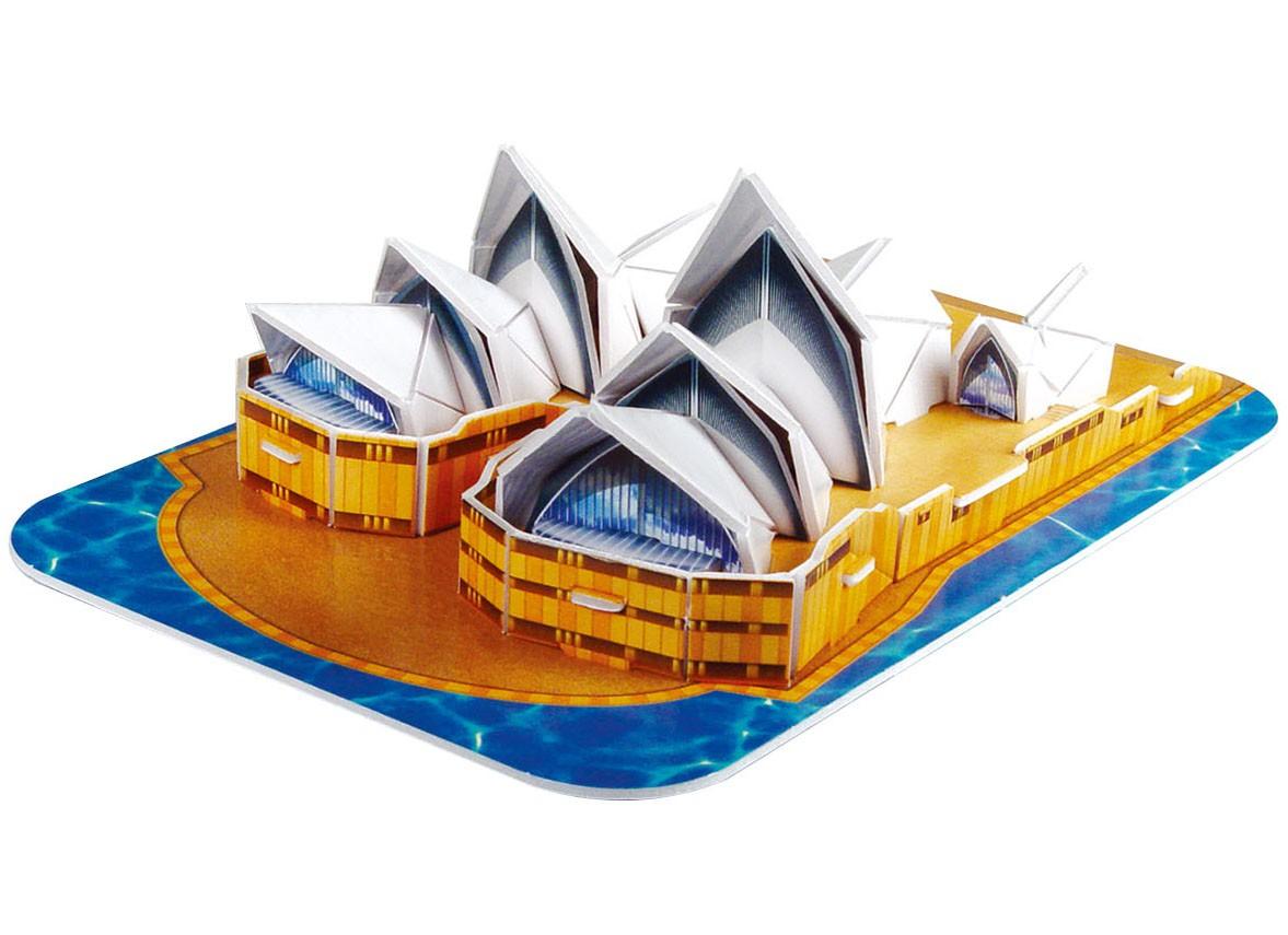 Quebra-cabeça 3D (3D Puzzle) Sydney Opera House - Revell 00118  - BLIMPS COMÉRCIO ELETRÔNICO