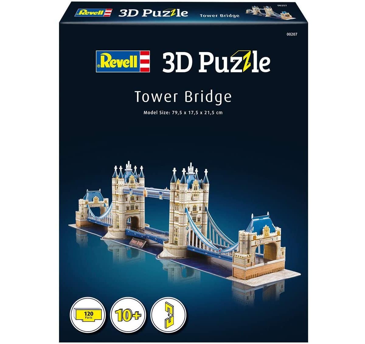Quebra-cabeça 3D (3D Puzzle) Tower Bridge - Revell 00207  - BLIMPS COMÉRCIO ELETRÔNICO