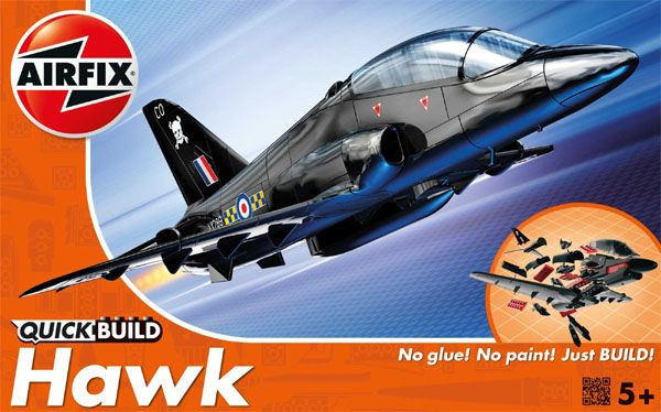 Quick Build BAe Hawk - Airfix J6003  - BLIMPS COMÉRCIO ELETRÔNICO