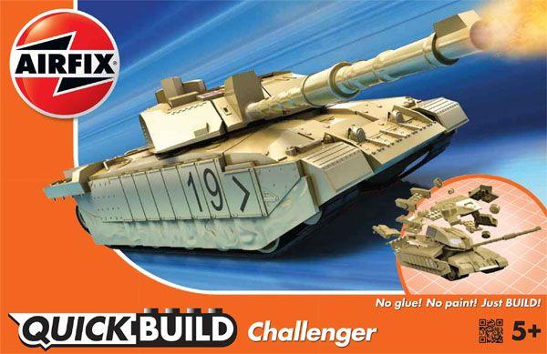 Quick Build Challenger - Airfix J6010  - BLIMPS COMÉRCIO ELETRÔNICO
