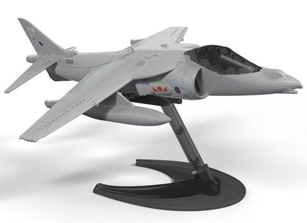 Quick Build Harrier - Airfix J6009  - BLIMPS COMÉRCIO ELETRÔNICO