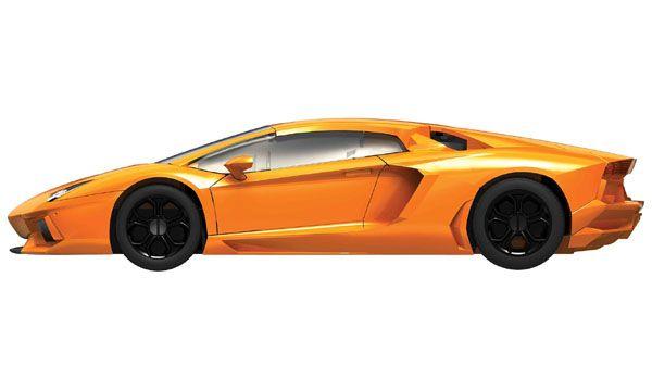 Quick Build Lamborghini Aventador LP 700 4   Airfix J6007   BLIMPS COMÉRCIO  ELETRÔNICO