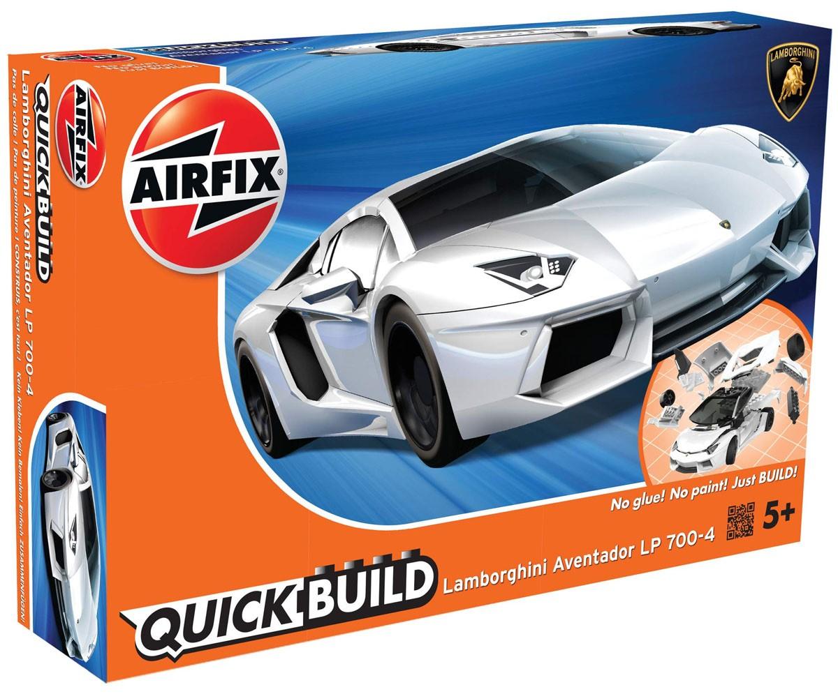 Quick Build Lamborghini Aventador LP 700-4 - Airfix J6019  - BLIMPS COMÉRCIO ELETRÔNICO