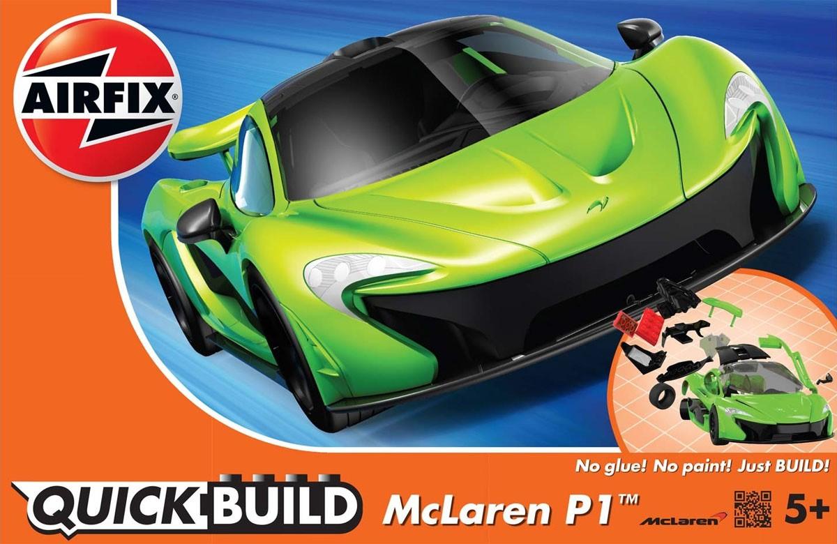 Quick Build McLaren P1 - Airfix J6021  - BLIMPS COMÉRCIO ELETRÔNICO