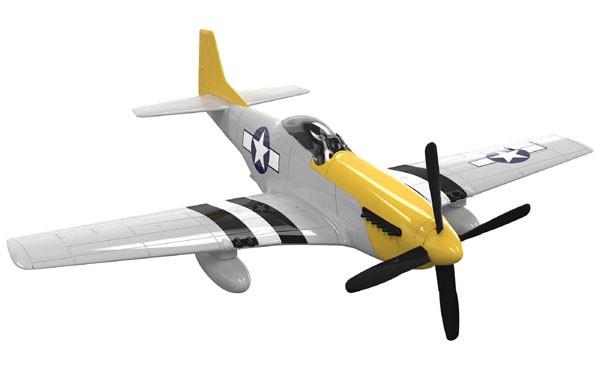 Quick Build P-51D Mustang - Airfix J6016  - BLIMPS COMÉRCIO ELETRÔNICO