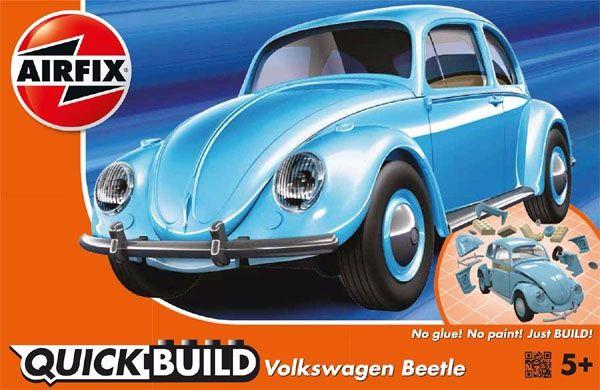 Quick Build Volkswagen Beetle (Fusca) - Airfix J6015  - BLIMPS COMÉRCIO ELETRÔNICO