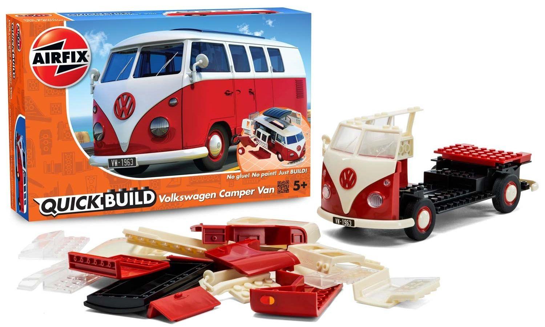 Quick Build Volkswagen Camper Van (Kombi) - Airfix J6017  - BLIMPS COMÉRCIO ELETRÔNICO