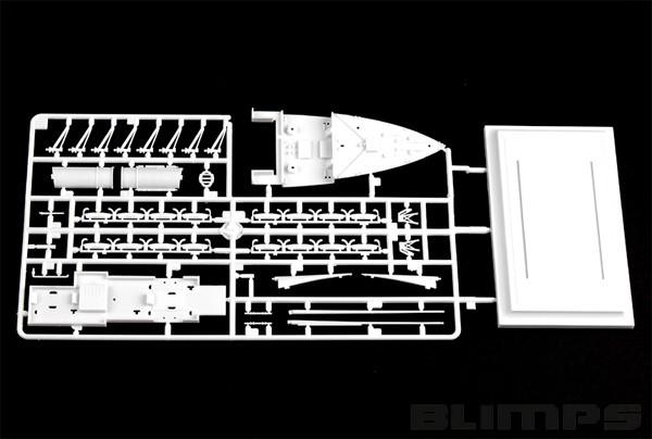 R.M.S. Titanic - 1/550 - HobbyBoss 81305  - BLIMPS COMÉRCIO ELETRÔNICO