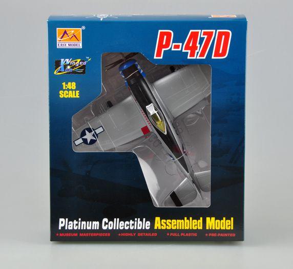 Republic P-47D Thunderbolt - 1/48 - Easy Model 39308  - BLIMPS COMÉRCIO ELETRÔNICO
