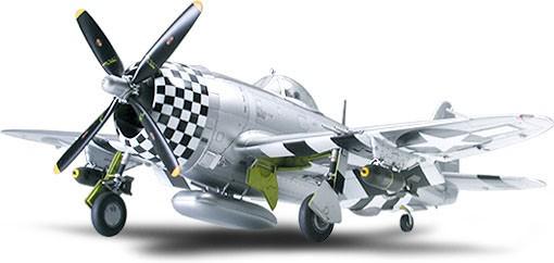 "Republic P-47D Thunderbolt ""Bubbletop"" - 1/48 - Tamiya 61090  - BLIMPS COMÉRCIO ELETRÔNICO"