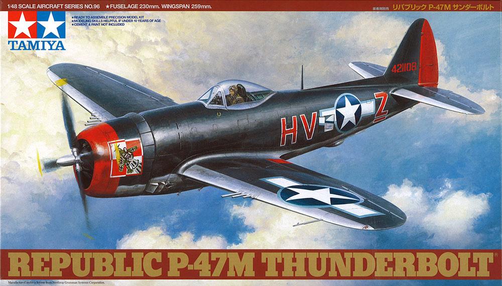 Republic P-47M Thunderbolt - 1/48 - Tamiya 61096  - BLIMPS COMÉRCIO ELETRÔNICO