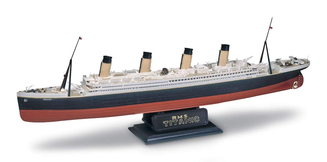 RMS Titanic - 1/570 - Revell 85-0445  - BLIMPS COMÉRCIO ELETRÔNICO