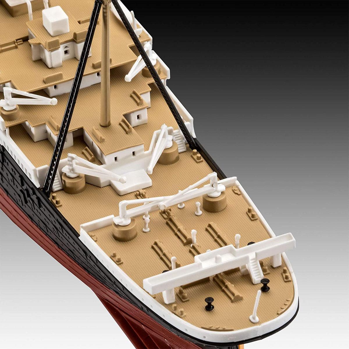 RMS Titanic + 3D Puzzle (Iceberg) - 1/600 - Revell 05599  - BLIMPS COMÉRCIO ELETRÔNICO