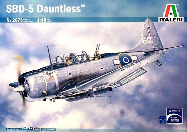 SBD 5 Dauntless - 1/48 - Italeri 2673  - BLIMPS COMÉRCIO ELETRÔNICO