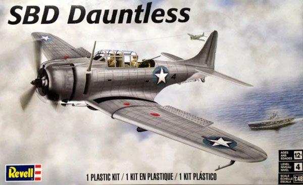 SBD Dauntless - 1/48 - Revell 85-5249  - BLIMPS COMÉRCIO ELETRÔNICO