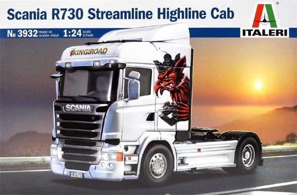 Scania R730 Streamline Highline Cab - 1/24 - Italeri 3932  - BLIMPS COMÉRCIO ELETRÔNICO