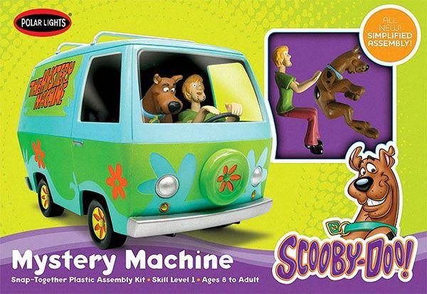 Scooby-Doo Mystery Machine - 1/25 - Polar Lights POL901  - BLIMPS COMÉRCIO ELETRÔNICO